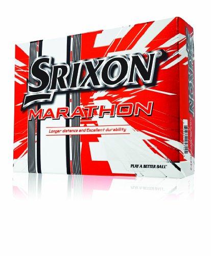 Srixon Marathon Golf Balls 12-Pack , White