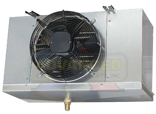 Low Profile Walk-In Cooler Evaporator Blower Single Fan 5,200 BTU / 730CFM / 220V