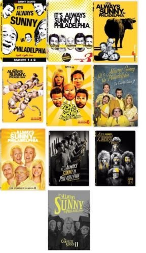 It's Always Sunny In Philadelphia Seasons 1-11 Bundle