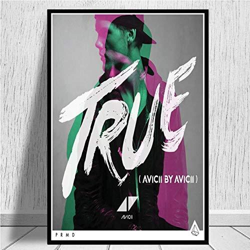 Legend Singer Singer Music Star Poster Print Lienzo de Arte ...