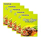 WRAPOK Cooking Oven Bags Small No Mess Roasting