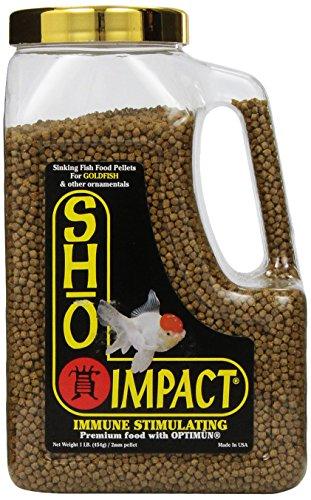 Total Koi Inc ATK00110 Sho Gold Small Sinking Pellet, 1-Pound