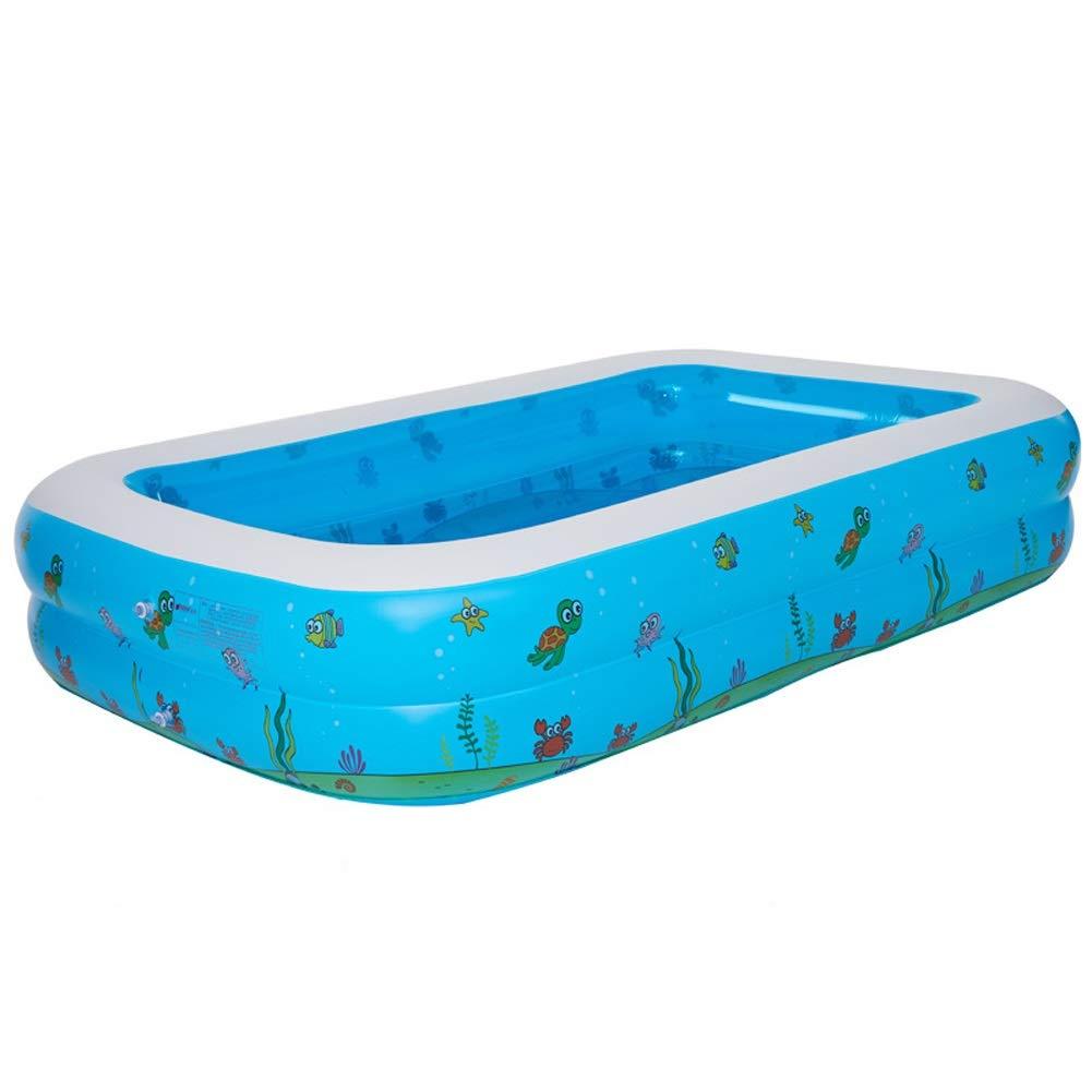 XAOBNIU Großes Haushalts-erwachsenes aufblasbares Badewannen-Kind-faltender Wannen-Swimmingpool