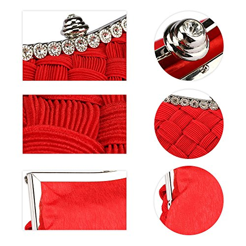 Jin femme pour Red Pochette Ya BgSx6q6n