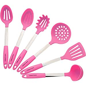 Amazon.com: Pink Cooking Utensil Set - Stainless Steel
