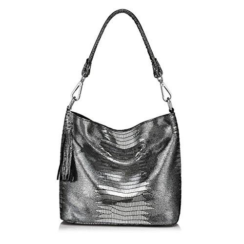 Anti Messenger Women Sliver Easygill Handbags Crossbody Bags Hobos Bags Leather Shoulder gSFqZ7x