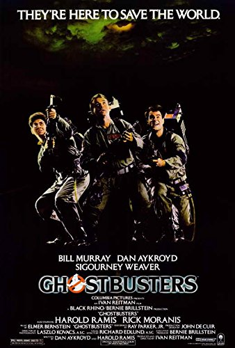 The Ghostbusters Dan Ackroyd Bill Murray Repro POSTER Verzamelingen Overig