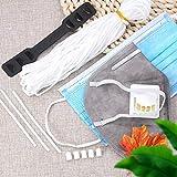 1/8 inch Elastic Mask Strap String, Soft Ear Tie