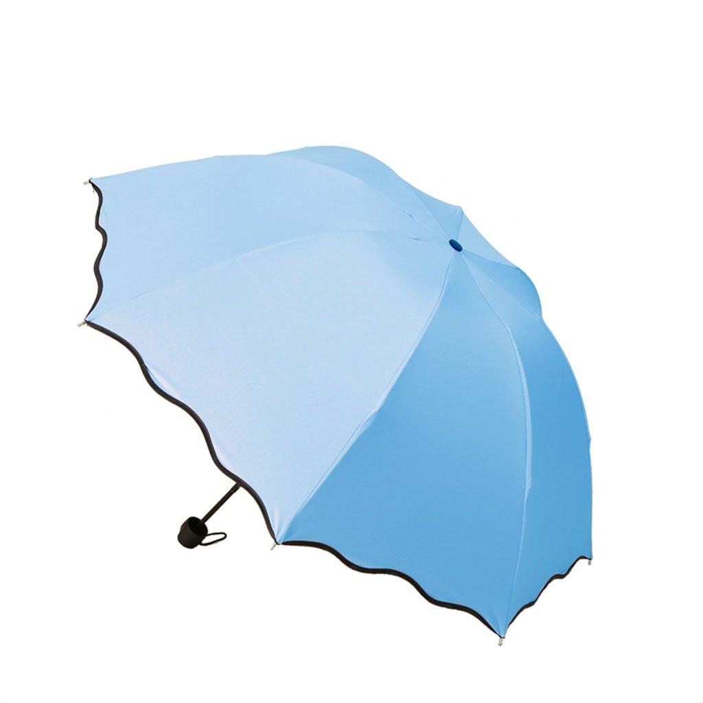 ace20e118df7 Amazon.com: SX-ZZJ Umbrella Windproof Water Flowering Umbrella Sun ...