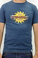 Blue Marlin Men's Team Argentina Sun Logo Applique Shirt, Midnite Blue, Large