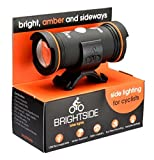 Brightside Bike Lights. Side Lighting for Cyclists. Amber, Bright, Rechargeable & Waterproof