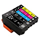#3: E-Z Ink (TM) Remanufactured Ink Cartridge Replacement for Epson 273XL 273 XL T273XL(1 Black, 1 Cyan, 1 Magenta, 1 Yellow, 1 Photo Black) 5 Pack for Epson Expression XP520 XP820 XP620 XP610 XP800 XP810