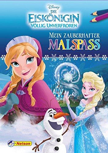Disney Eiskönigin: Mein zauberhafter Malspaß Taschenbuch – 31. Januar 2017 Nelson 3845107189 JUVENILE FICTION / General empfohlenes Alter: ab 3 Jahre