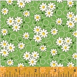 Reproduction Vintage Cotton Fabric (Windham Feedsack 30s Repro Quilt Fabric Fat Quarter)