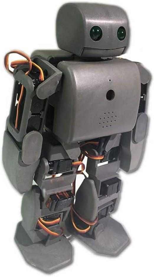 HARLT Robot humanoide Kit Plen2 para la Impresora 3D de código Abierto Arduino plen 2 para el Control de WiFi Juguete Modelo de enseñanza de Bricolaje Robot graduación,Negro: Amazon.es: Deportes y aire
