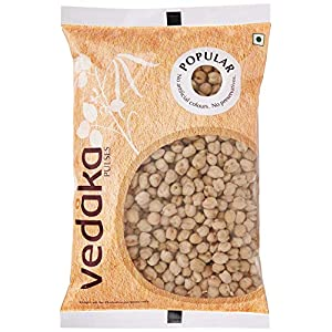 Amazon Brand – Vedaka Popular Kabuli Chana / Chhole, 500g