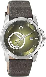 9465SL01 Titan Retro date leather strap casual watch