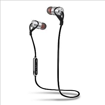 Auriculares Bluetooth Deportes Inalámbricos 4.1 Orejas Estéreo Estéreo Oído Doble IPX4 Diseño Resistente al Agua Reducción