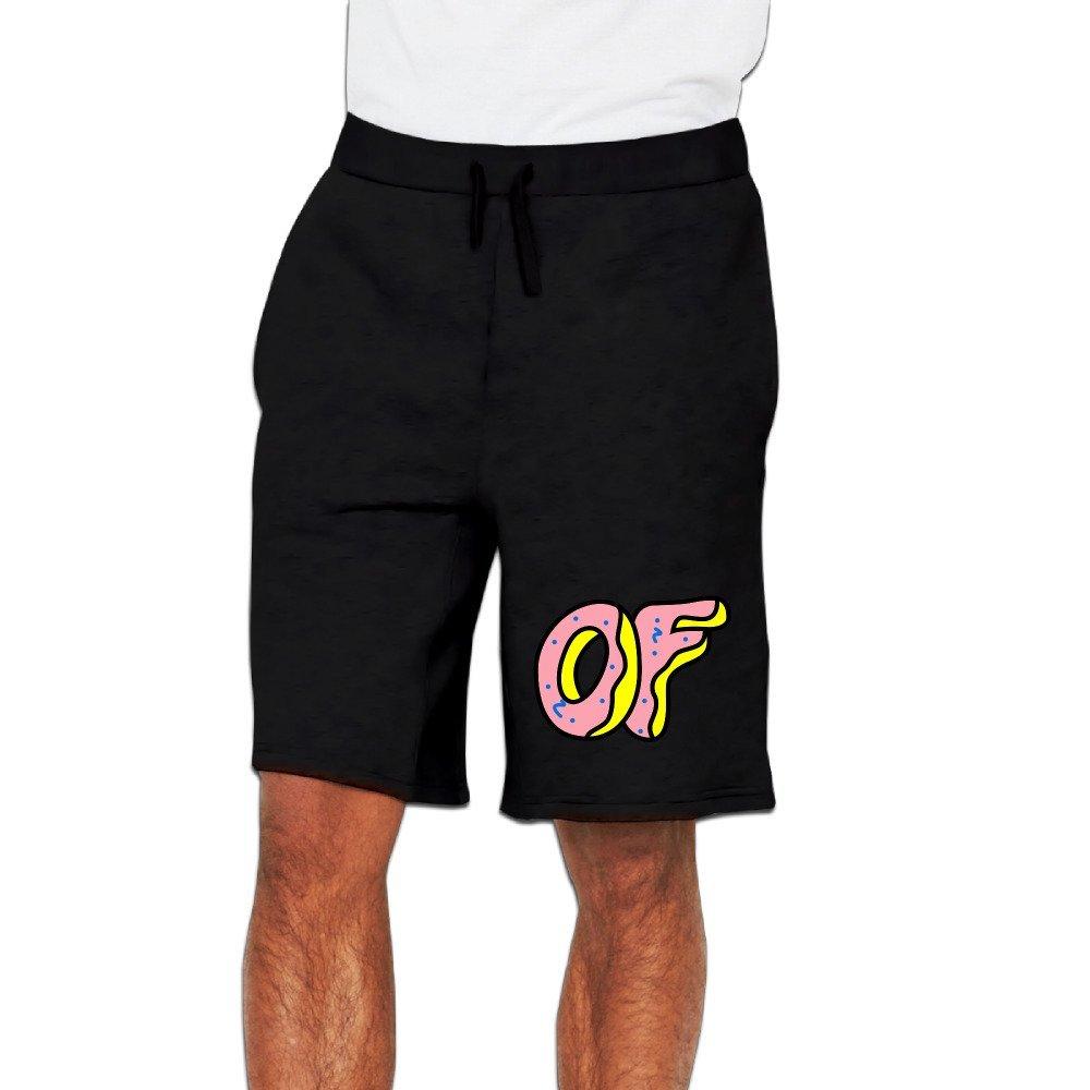 GLK300 Particular Odd Future Logo Short Running Pants For Mens Black