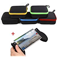 Togather Mini Portable Carrying Case Bag drone Box Waterproof Storage +Smartphone Handle Grip For DJI Spark