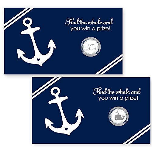 Nautical Scratch Off Card - Party Game -
