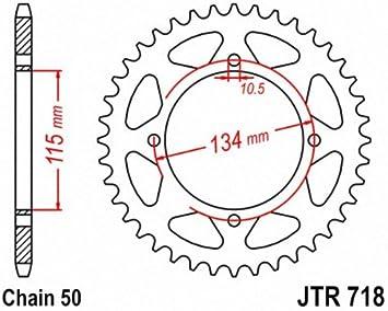 JT Sprockets JTR718.46 46T Steel Rear Sprocket