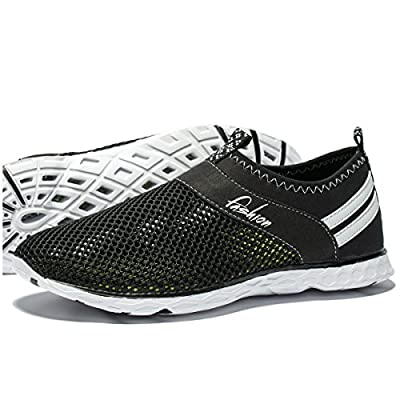 Men's Quick Drying Athletic Water Shoes Lightweight Slip-On Aqua Shoes