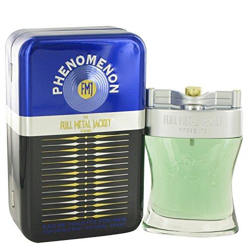 Phenomenon by Full Metal Jacket Eau De Toilette Spray 3.4 oz for Men by Fmj Parfums