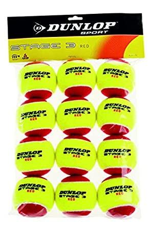 Dunlop Stage 1 Tennis Ball 3-can