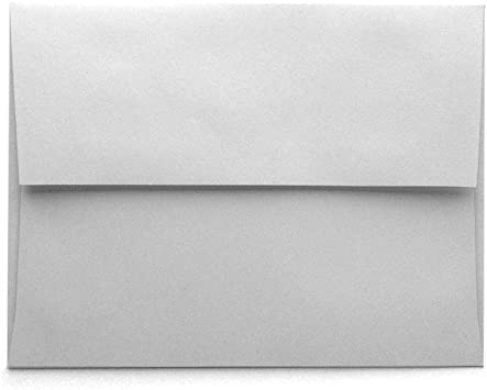 100 Eco Friendly A2 Envelopes for NotecardsAnnouncementsRSVPInvites white natural white kraft or light brown Recycled 4 38 x 5 34