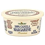 Canoleo Premium Canola Margarine, 16 Ounce (Pack of 12)