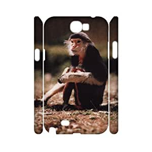 case Of Monkey Customized Hard Case For Samsung Galaxy Note 2 N7100