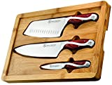 Hammer Stahl 4 Piece Bamboo Case Set