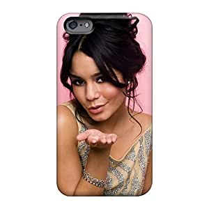 Shock Absorbent Cell-phone Hard Covers For Apple Iphone 6 Plus (DZU25389cjxz) Customized Fashion High School Musical Girl Vanessa Anne Hudgens Pictures