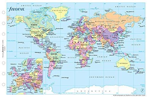 Filofax Personal World Map by Filofax (Image #1)
