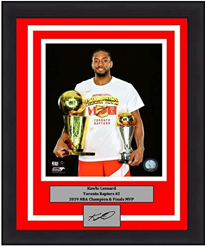 Kawhi Leonard Toronto Raptors 2019 NBA Champions Finals & MVP Trophies 8