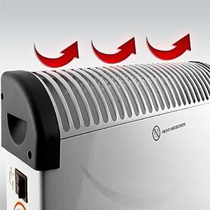 deuba radiateur lectrique convecteur chauffage d 39 appoint lectrique 2000w chauffage d. Black Bedroom Furniture Sets. Home Design Ideas