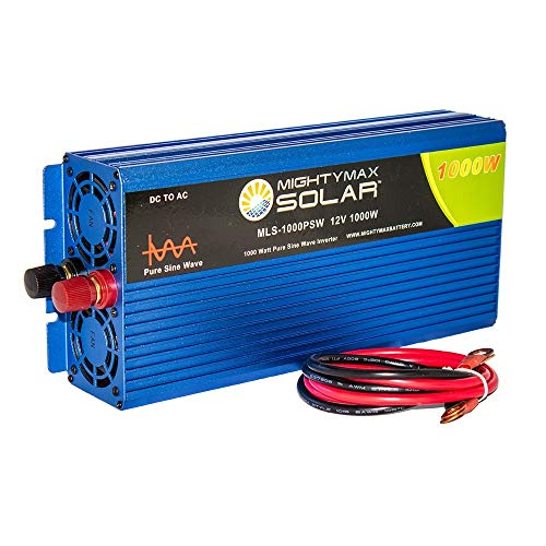 Cheap Mighty Max Battery 12V 1000 watt Pure sine Wave Inverter for Solar Application Brand Product
