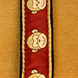 3/4'' Garnet Monkeys Small Collar Small Hemp Collar