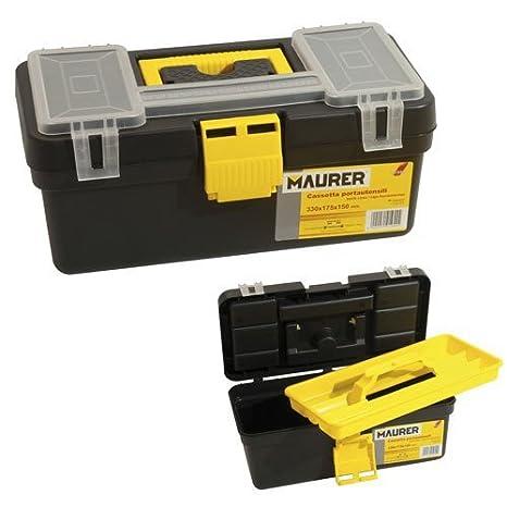 """Maurer 2240010 - Caja Herramientas Maurer """"Minibox"""" ..."""