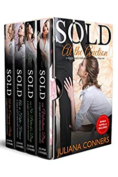 Sold at the Auction: Virgin and Billionaire Romance Series Box Set by [Conners, Juliana]