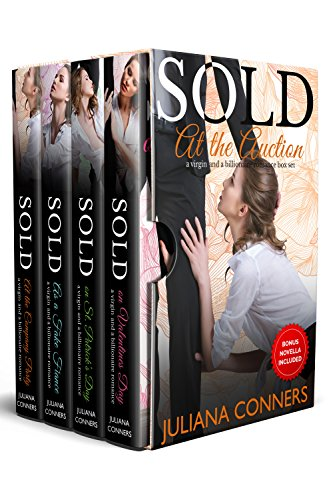 Sold at the Auction: Virgin and Billionaire Romance Series Box Set cover