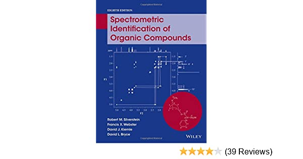 Amazon spectrometric identification of organic compounds amazon spectrometric identification of organic compounds 9780470616376 robert m silverstein francis x webster david j kiemle david l bryce fandeluxe Images