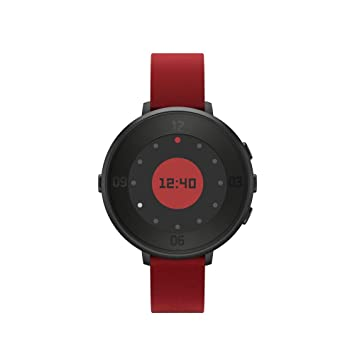 Pebble BXPETR14B - Smartwatch, color negro