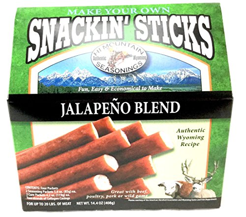 Hi Mountain Jalapeno Blend Snackin Stick Kit ()