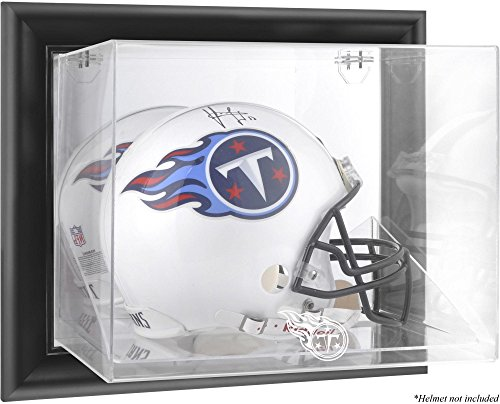 Tennessee Titans Wall Mounted Full Size Helmet Display Case by Mounted Memories