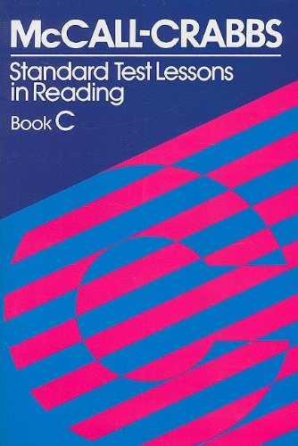 McCall-Crabbs Standard Test Lessons in Reading, Book C