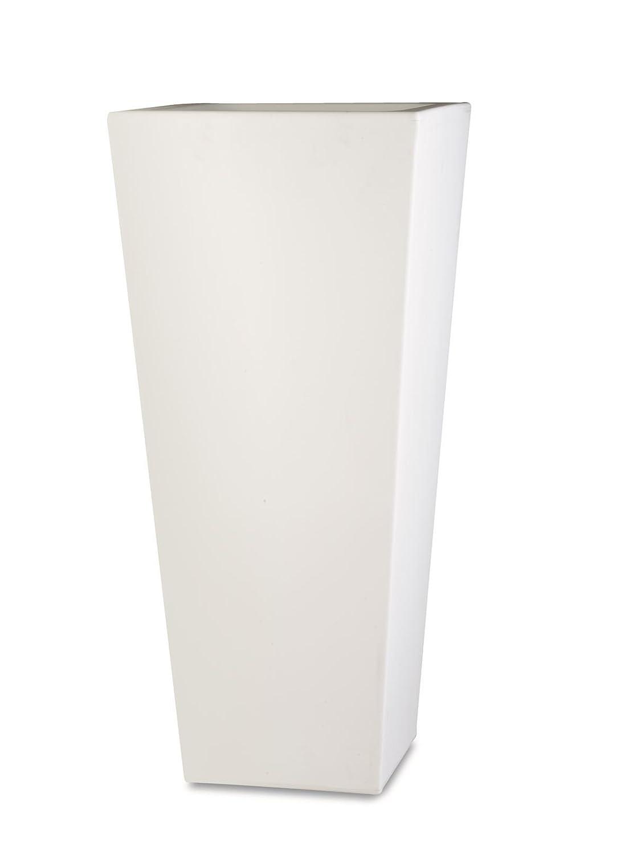 Vase Wohnaccessoires Kunstharz Naif 80 BIANCO