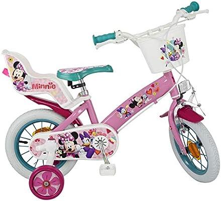 TOIMSA – Bicicleta para niños bajo Licencia Minnie Mouse 12 ...