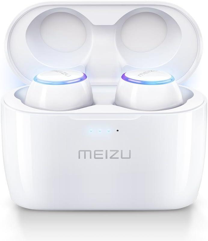 Meizu Pop Auriculares Deportivos Bluetooth Completamente Inalámbricos, Auriculares con Drivers de Grafeno a Prueba de Sudor con Inteligencia